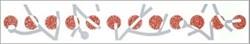 M026/6000 Неаполь красный 40х6 - фото 10747