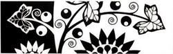 AC101/7000 Аквилон цветы 20х6,3 - фото 10842
