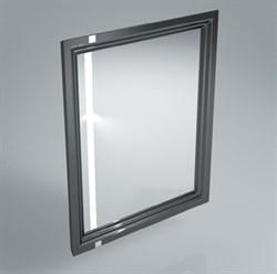 PO.mi.60\BLK  Панель с зеркалом POMPEI черный - фото 39063