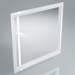PO.mi.80\WHT  Панель с зеркалом POMPEI белый - фото 39064
