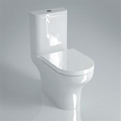 BG.seat.01\WHT Сиденье BUONGIORNO Soft close + Clip up белый - фото 39156