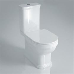 PO.seat.01\WHT Сиденье POMPEI Soft close + Clip up белый - фото 39161