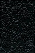 8217 Аджанта цветы черный 20х30