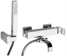 84CR105R Dax-R смеситель для ванны с аксессуарами (хром)