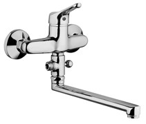 05CR119LMKM Bios смеситель для ванны с длинным изливом, без акс.
