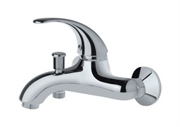 F2CR111LMKM Fiori смеситель для ванны без аксессуаров, корпус хром