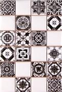 Плитка Novum White Black 20x30