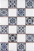Плитка Novum White Blue 20x30