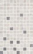 MM6268A Декор Мармион серый мозаичный 25х40х8