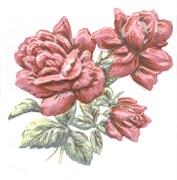TFA012 Декор Оранжерея Розы 9,9х9,9х7