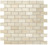 S.O. Ivory Chiffon Brick Mosaic / С.О. Айвори Шиффон Брик Мозаика 30,5x30,5 600110000203