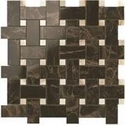 S.M. Frappuccino Dark Twist Mosaic / S.M. Фраппучино Дарк Мозаика Твист 30,5x30,5 600110000071