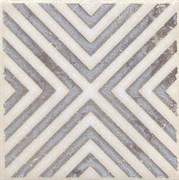 STG/A403/1266 Вставка Амальфи орнамент коричневый 9,9х9,9х7