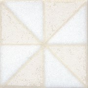STG/B407/1266 Вставка Амальфи орнамент белый 9,9х9,9х7