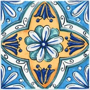 STG/A456/5232 Декор Капри майолика 20х20х6,9