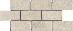 BR020 Бордюр Монте Авелла мозаичный 34,5х14,7х11