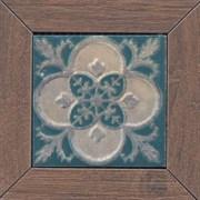 ID59 Вставка Меранти беж темный мозаичный 13х13х11