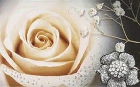 декор Dec. Selena-1 (1 роза) 25 х 40