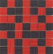 25x25 Mosaico Line Rojo