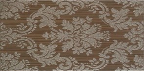 25x50 Decorado Line Damasco Marron
