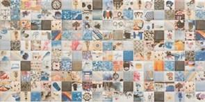 25x50 Decorado Mosaico Blanco Bano