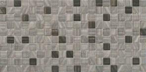 25x50 Mosaico Negro