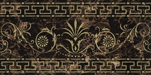 24,1x48,2 Cenefa Classic Emperador Gold