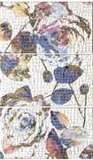 Mosaico Rosas-1 (3 плитки) 75 х 50