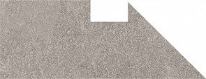 DD2004/BSL/DV Плинтус вертикальный правый Про Стоун серый 24,3х9,5х11