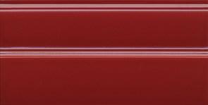 FMA011R Плинтус Даниэли красный обрезной 30х15х17