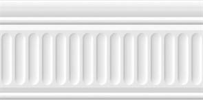 19030/3F Бордюр Карнавал в Венеции белый структурированный 20х9,9х6,9