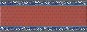 NT/A169/15000 Декор Фонтанка красный 15х40х8