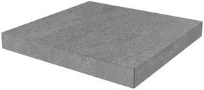 DL500900R/GCA Ступень угловая клееная Фондамента серый 33х33х11