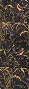 SST/A01/12000R Декор Астория Птицы черный обрезной 25х75х9