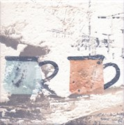 ALD/A25/17000 Декор Виченца Чашки 15х15х6,9