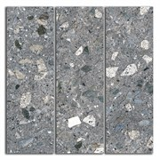 SG184/004 Декор Терраццо серый темный мозаичный 14,7х14,7х11