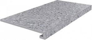 SG632600R/GCF Ступень клееная Терраццо серый 33х60х11