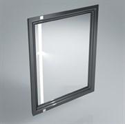 PO.mi.60\BLK  Панель с зеркалом POMPEI черный