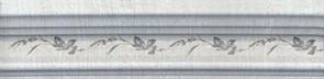 BLB029 Бордюр Багет Кантри Шик серый декорированный 20х5х19