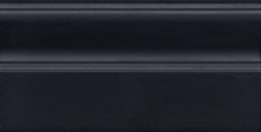 FMA022R Плинтус Тропикаль чёрный обрезной 30х15х17