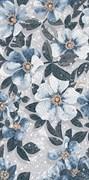 SG591002R Розелла синий декорированный лаппатированный Ковер