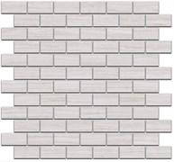 191/001 Декор Турнон белый матовый мозаичный 32х30х11