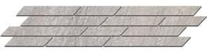 SG144/004 Бордюр Гренель серый мозаичный 46,5х9,8х11