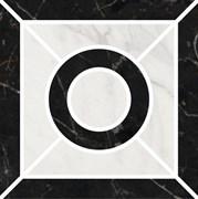 ID94 Декор Фрагонар наборный чёрный 9,9х9,9х11