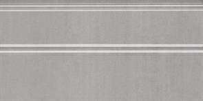 FMA019R Плинтус Марсо серый обрезной 30х15х17