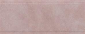 BDA014R Бордюр Марсо розовый обрезной 30х12х13
