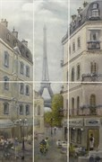 VB/A14/6x/7071 Панно Кантри Шик Париж 60х100х8