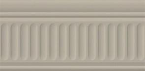 19050/3F Бордюр Бланше серый структурированный 20х9,9х9,2