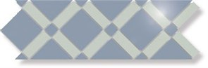 TU139/001 Креп полир аквам+голуб 42х14