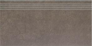 SG614900R/GR Ступень Королевская дорога коричневый обрезной 30х60